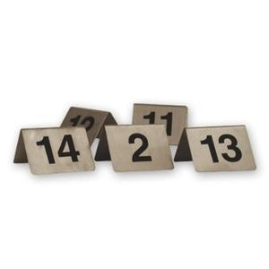 Product image: Stainless Steel A-Frame Table Numbers