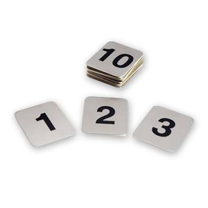 Product image: Stainless Steel Adhesive Table Numbers