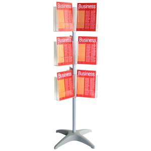 Product image: Esselte Brochure Holder Carousel Floor Stands