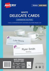 Product image: Avery Delegate Cards