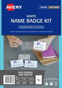 Product image: Avery Name Badge Kit & Refills
