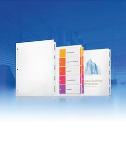 Product image: Avery Printable Presentation Dividers