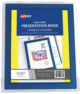Product image: Avery A4 Flexi View Presentation Folders & Dividers