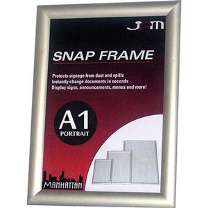 Product image: Manhattan Silver Snap Frame