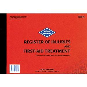 Product image: Zions Injuries & Site pass Visitor Books