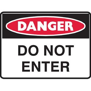 Product image: Brady Signs - Danger Signs