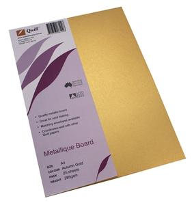 Product image: Quill 285Gsm Metallique Board