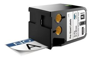 Product image: Dymo XTL Pre-Sized Label, Black on White Speciality