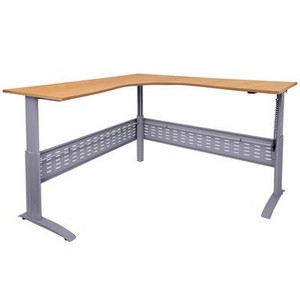 Product image: Rapid Span Electric Height Adjustable Corner Workstation
