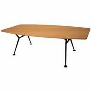 Product image: Rapid Span Boardroom Boat Shaped Table