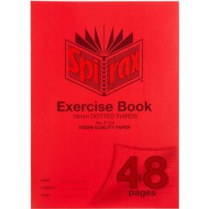 Product image: Spirax Exercise Book Dotted Thirds
