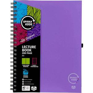 Product image: Spirax Kode Lecture Book