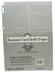 Product image: Waterville Business Card Wallets & Binders