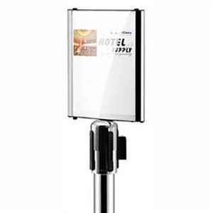 Product image: Retracta Q Curved Sign Holder
