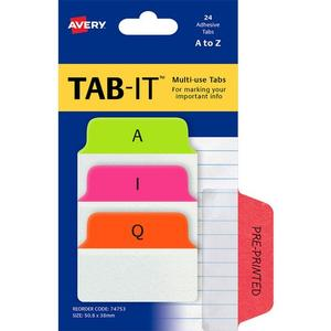Product image: Avery Multiuse Tabs A-Z