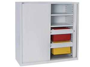 Product image: 1200H Tambour Door Cupboard