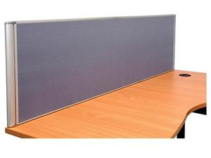Product image: Desk Mounted Flat Top Screens