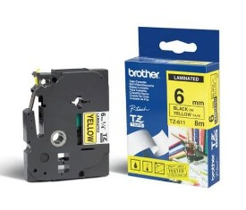 Product image: Brother TZ Laminated Yellow Tape