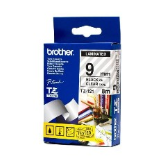 Product image: Brother TZ Laminated Clear Tape
