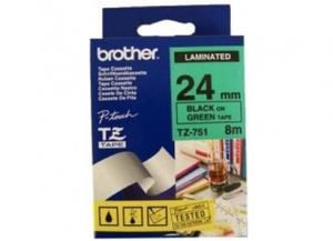 Product image: Brother TZ Laminated Green Tape