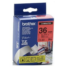 Product image: Brother TZ Laminated Red Tape
