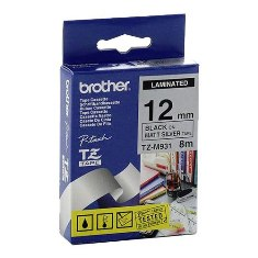 Product image: Brother TZ Laminated Silver Tape