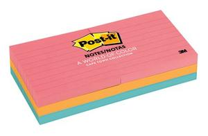 Product image: 3M Post-It Ruled Pads