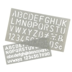 Product image: Celco Lettering Stencil