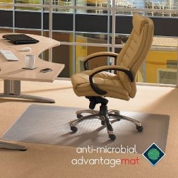Product image: Floortex Anti-Microbial Chairmat