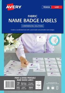 Product image: Avery Fabric Name Badge Labels