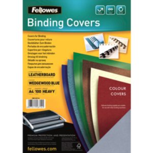 Product image: Fellowes Leatherboard Binding Covers
