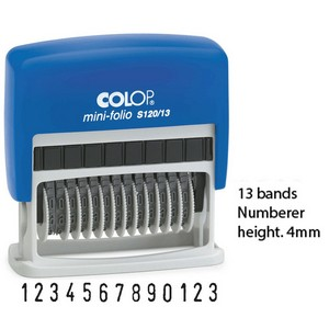 Product image: Colop Self Inking Numberers