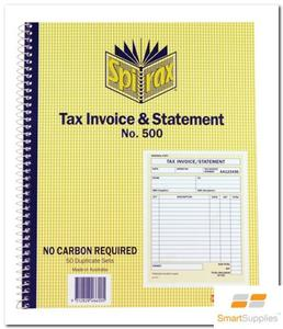 Product image: Spirax Carbonless Business Books