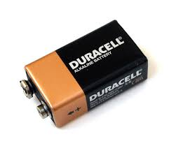 Product image: Duracell 9 Volt Batteries