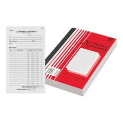 Product image: Olympic Invoice & Statement Books