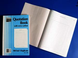 Product image: Olympic Quotation & Order Books