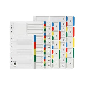 Product image: Marbig PP Multi Dividers