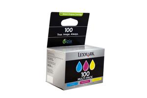Product image: Lexmark no.100 Series Ink Cartridges