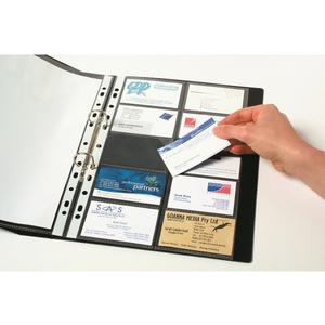 Product image: Marbig Business Card Pockets