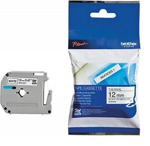 Product image: Brother MK 12mm Labelling Tape