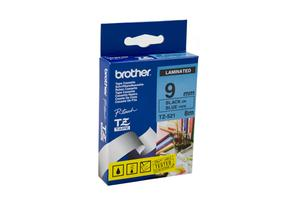 Product image: Brother Black On Blue Labelling Tape