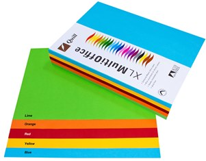 Product image: Quill XL A4 Assorted Paper