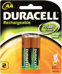 Product image: Duracell Rechargeable Batteries