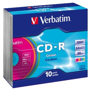 Product image: Verbatim CD-RW DataLife Disks