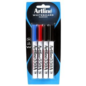 Product image: Artline 550A Whiteboard Bullet Tip Markers