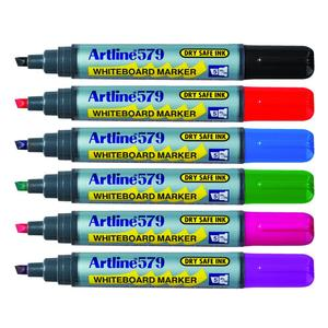 Product image: Artline 579 Whiteboard Chisel Tip Markers