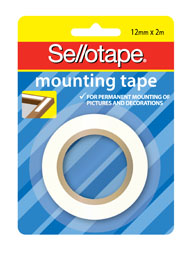 Product image: Sellotape Mounting & Magnetic Tape