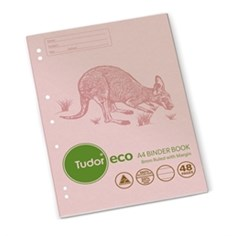 Product image: Tudor Eco A4 Recycled Binder Books