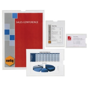 Product image: Marbig Plastic Document Protectors