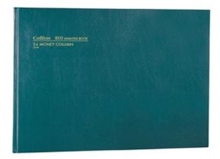 Product image: Collins 800 A3 Hardcover Analysis Book